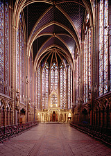 Paris, Sainte Chapelle - Paris, France - 37002-10-1