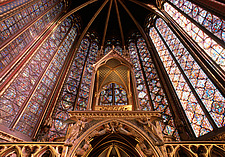 Paris, Sainte Chapelle - Paris, France - 37002-20-1
