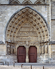 Reims Cathedral - Marne, France - 37055-40-1