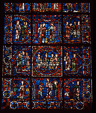 Chartres Cathedral - France - Stained glass - 37388-40-1