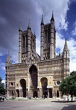 Lincoln Cathedral - Lincolnshire, UK - 37583-60-1