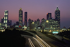 Atlanta, view of city - Georgia, USA - 37689-30-1