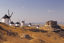Consuegra, Windmills and Castle - New Castile, Spain - 38132-30-1