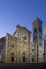 The Duomo at dawn, Florence, Italy - 12166-20-1