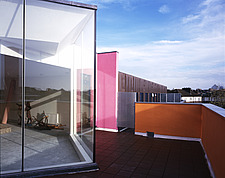 Zandra Rhodes Fashion and Textile Museum, Bermondsey, London, SE1 (Penthouse on roof) - 9967-20-1