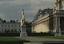 Royal Naval College, Greenwich, London (1684-) renaissance baroque 18th century eighteenth architecture building grand UNESCO world heritage site - 1613-50-1