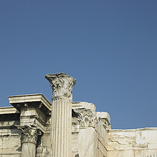 Athens Acropolis , columns and capitals - 30213-10-1