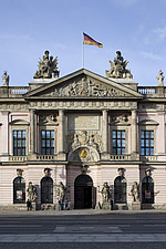 Zeughaus (old arsenal) now the German Historical Museum, Berlin - 12288-80-1