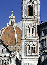 Florence Italy the Campanile and Duomo - 8999-390-1