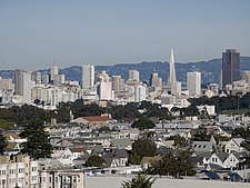 San Francisco skyline, California, USA - 12352-170-1