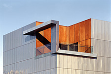 Exterior façade of the Ian Potter Museum of Art - Melbourne Australia - 31258-10-1