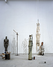 Antony Gormley Studio, London - 10673-190-1