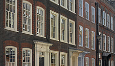 Georgian terrace facades, Spitalfields, London - 11369-90-1