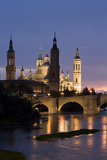 Basilica-Cathedral of Our Lady of the Pillar, Zaragoza - 12399-40-1