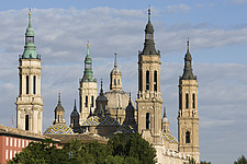 Basilica-Cathedral of Our Lady of the Pillar, Zaragoza - 12399-50-1