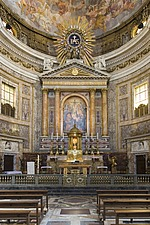 The main altar at Chiesa del Gesu, Rome, Italy - 12034-40-1