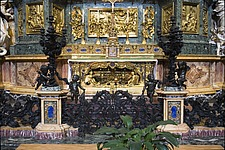 The tomb of St Ignatius Loyola at Chiesa del Gesu, Rome, Italy - 12034-50-1
