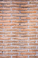 Roman brickwork at the Colosseum, Rome, Italy - 12035-50-1