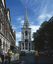 Christ Church, Spitalfields, London, 1715 - 1729 - 10891-10-1