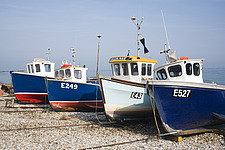 Fishing boats at Beer, Devon, England - 31904-40-1