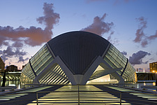 L'Hemisferic, The City of Arts and Sciences, Valencia, Spain - 12454-110-1