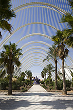 L'Umbracle, The City of Arts and Sciences, Valencia, Spain - 12454-210-1