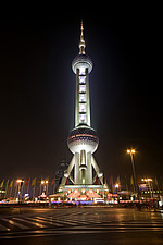 Oriental Pearl Tower, Shanghai, China - 32065-10-1