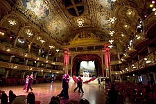 The Tower Ballroom, opened as a roller skating rink but changed to a dance venue in the 1920s, Blackpool, England - 12693-130-1