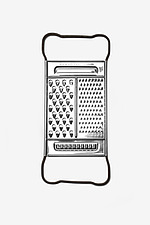 Stainless Steel Grater - 12529-820-1