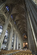 Interior view, Canterbury Cathedral, Canterbury, Kent, England - 12861-40-1