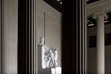 Abraham Lincoln Statue, Lincoln Memorial, Washington D - 12565-200-1