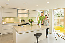 60s house renovation   extension, kitchen - 12924-130-1