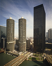Marina Towers and  IBM Plaza Chicago Illinois - 70005-60-1