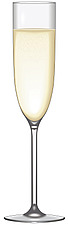 Illustration Champagne flute glass - 80000-160-1