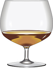 Illustration  of a cognac glass - 80000-30-1