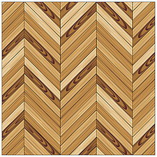 illustration wooden parquet strip flooring with chevron herringbone pattern - 80004-60-1