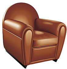 illustraton Club leather armchair - 80005-160-1
