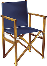 illustraton directors foldinf wooden and canvas chair - 80005-80-1