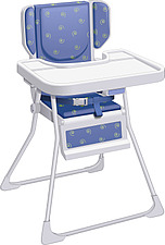 illustraton high chair - 80006-70-1