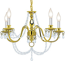 illustration chandelier - 80007-110-1