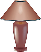 illustration table lamp - 80007-150-1