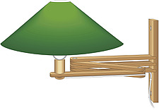 illustration swivel wall lamp - 80007-20-1