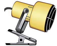 illustration clamp spotlight - 80007-70-1