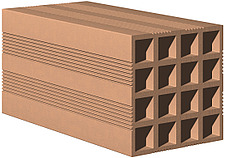 illustration horizontal perforated brick - 80008-30-1