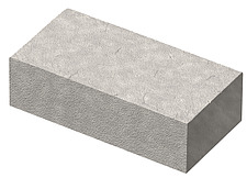 illustration fire brick, refractory brick - 80008-50-1