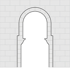 Illustration stilted window - 80011-120-1