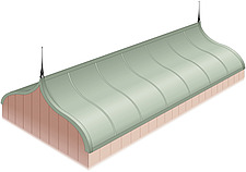 Illustration keel roof - 80012-120-1