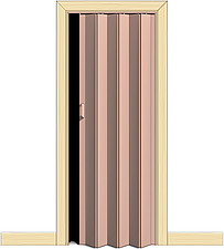 Illustration concertina door - 80012-20-1