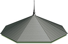 Illustration rotunda roof - 80012-200-1