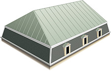 Illustration mansard roof - 80012-210-1